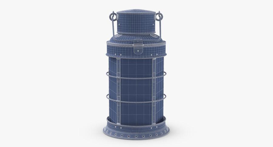 Ship Candle Lantern royalty-free 3d model - Preview no. 11