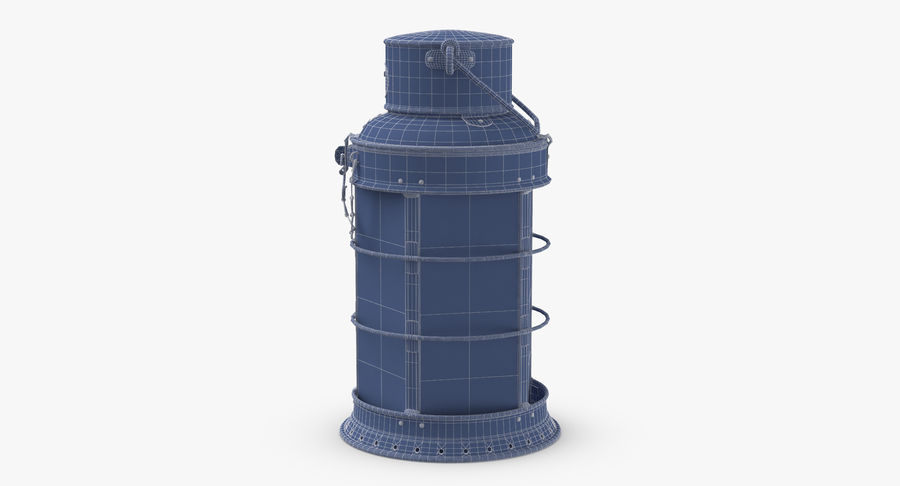 Ship Candle Lantern royalty-free 3d model - Preview no. 16