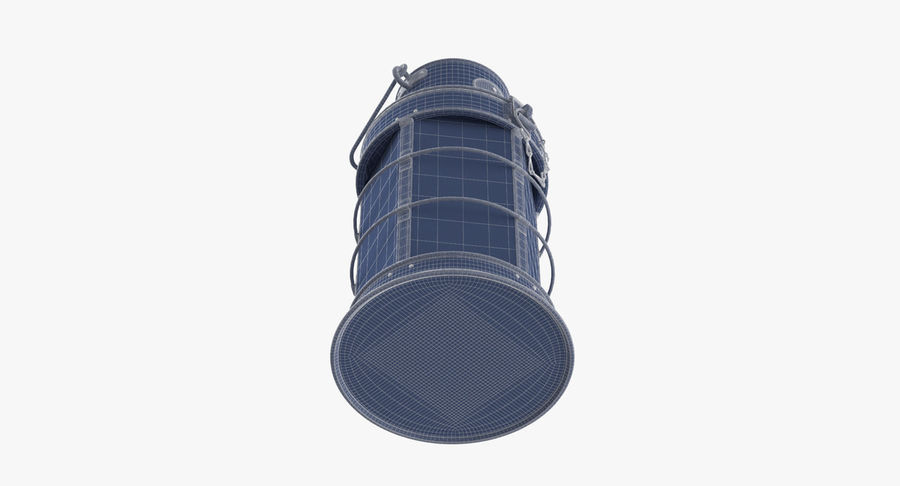Ship Candle Lantern royalty-free 3d model - Preview no. 15