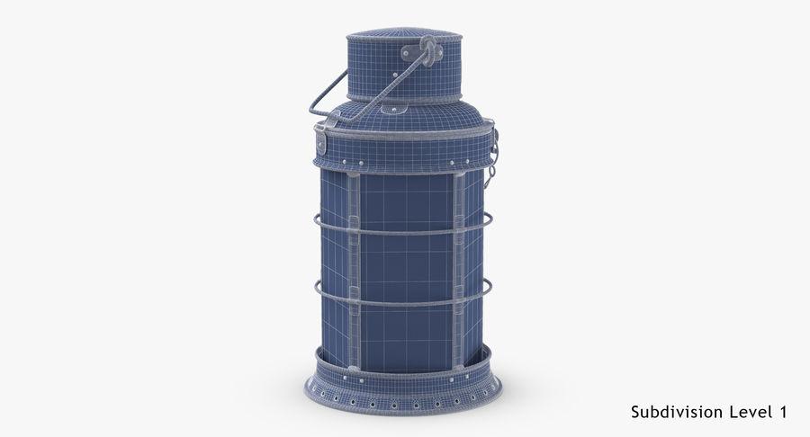 Ship Candle Lantern royalty-free 3d model - Preview no. 19
