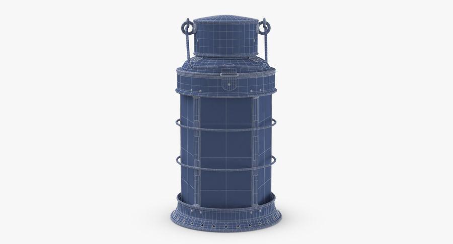 Ship Candle Lantern royalty-free 3d model - Preview no. 17