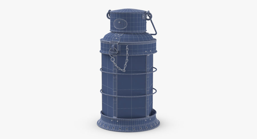 Ship Candle Lantern royalty-free 3d model - Preview no. 10