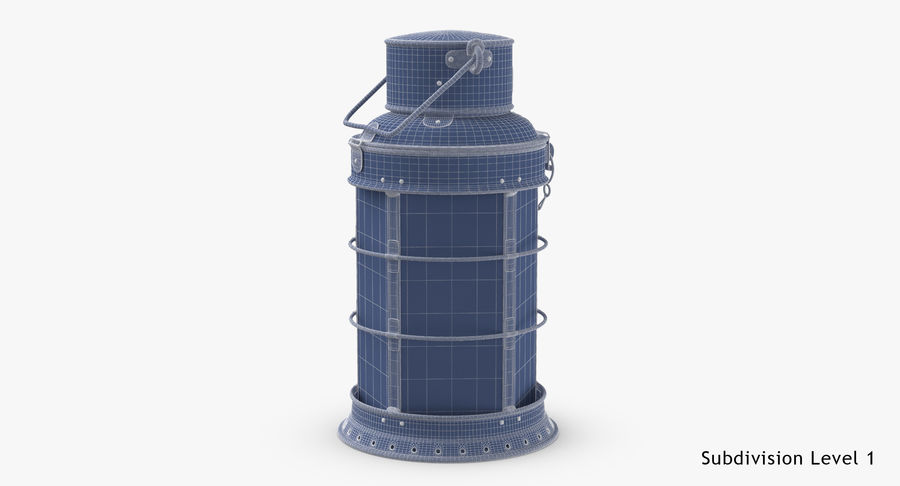 Ship Candle Lantern royalty-free 3d model - Preview no. 19