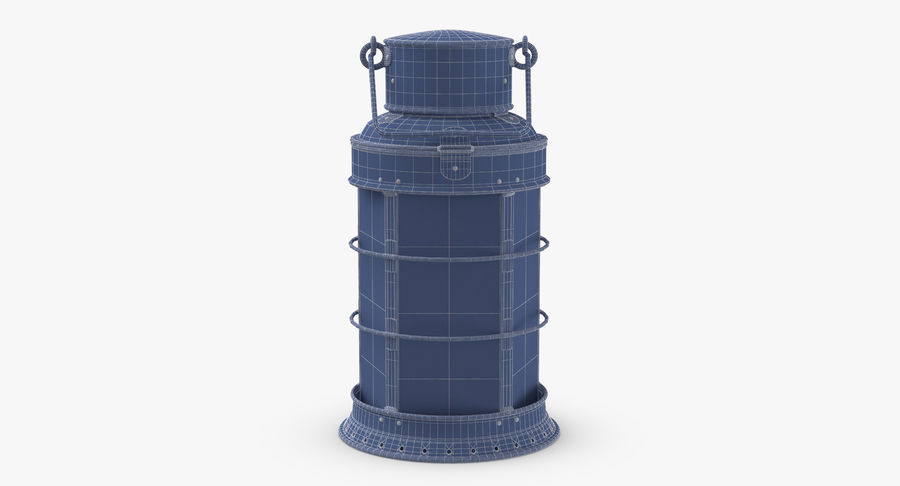 Ship Candle Lantern royalty-free 3d model - Preview no. 17