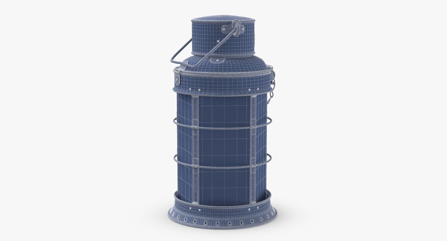 Ship Candle Lantern royalty-free 3d model - Preview no. 12