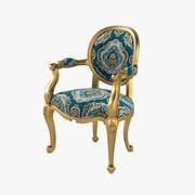 Анжелика Кресло сказочным и барокко 3d model