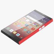Концептуальный смартфон 3d model