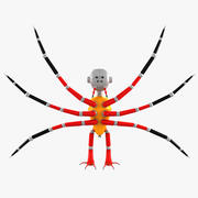 Örümcek Robotu 3d model