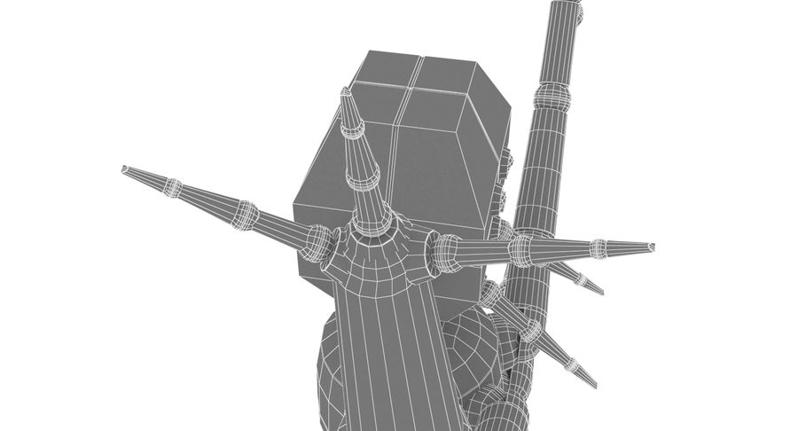Spider Robot royalty-free 3d model - Preview no. 15