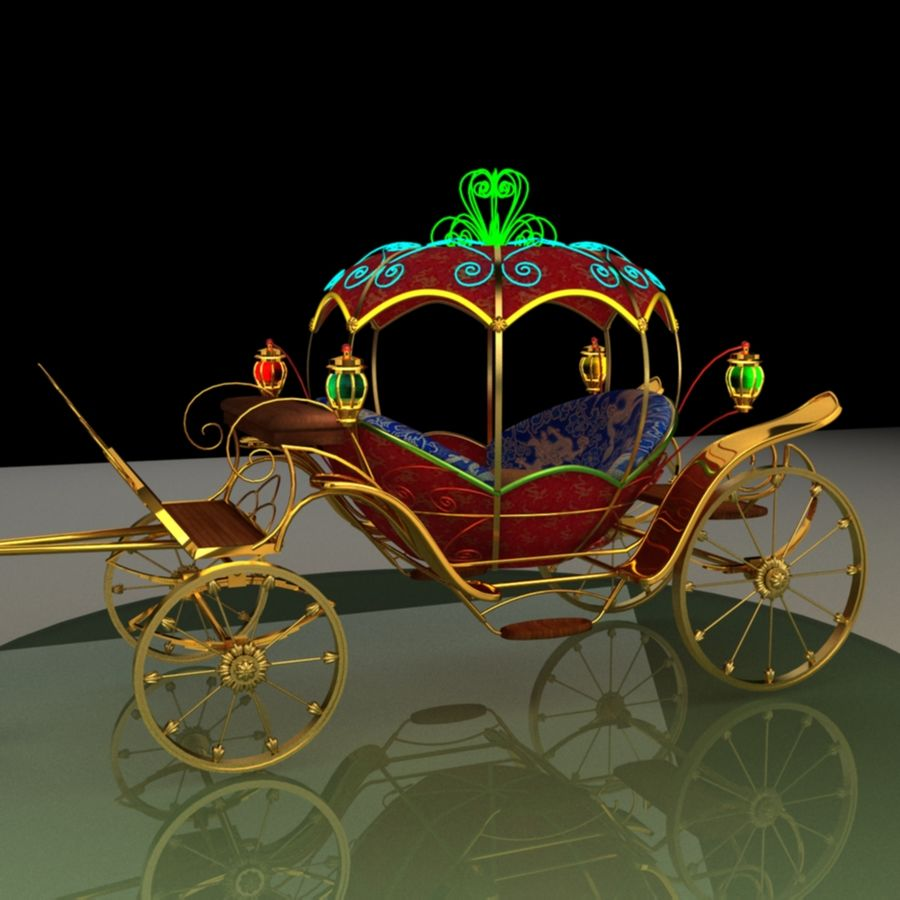 Carriage royalty-free 3d model - Preview no. 6