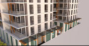 Complesso residenziale Ultra Luxury TwinTower 3d model