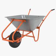 Carro de la construcción modelo 3d