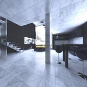 Loft-Szene (1) 3d model