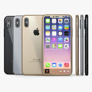 Iphone 8 Concept-collectie 3d model