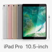 iPad Pro 10.5 Wi-Fi todas as cores 3d model
