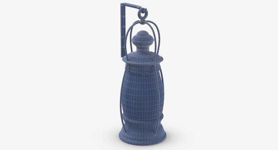 Ship Candle Lantern Mounted royalty-free 3d model - Preview no. 17
