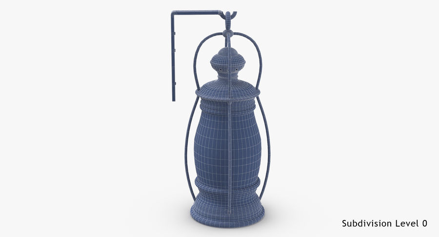 Ship Candle Lantern Mounted royalty-free 3d model - Preview no. 18