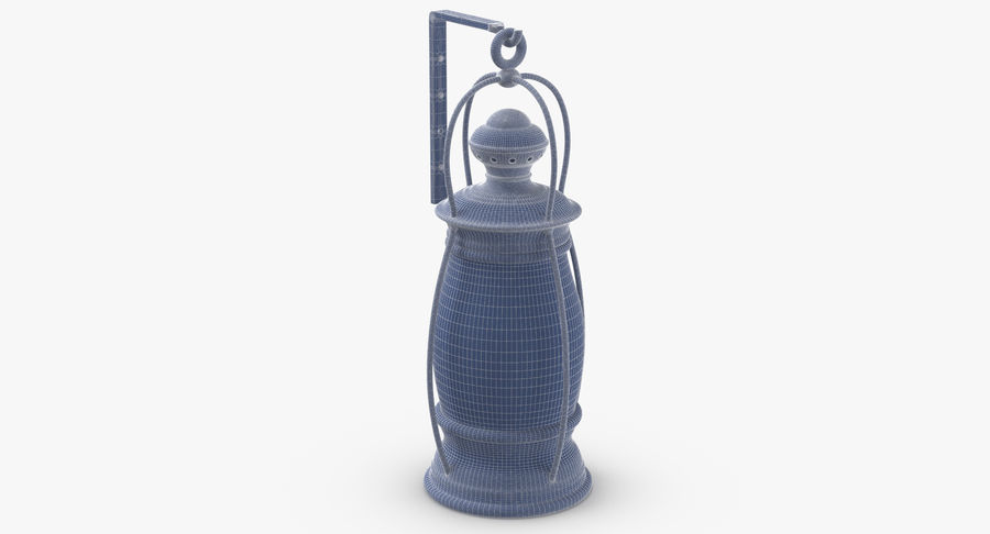 Ship Candle Lantern Mounted royalty-free 3d model - Preview no. 12