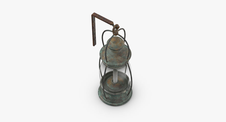 Ship Candle Lantern Mounted royalty-free 3d model - Preview no. 6