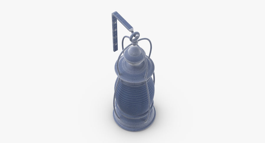 Ship Candle Lantern Mounted royalty-free 3d model - Preview no. 13