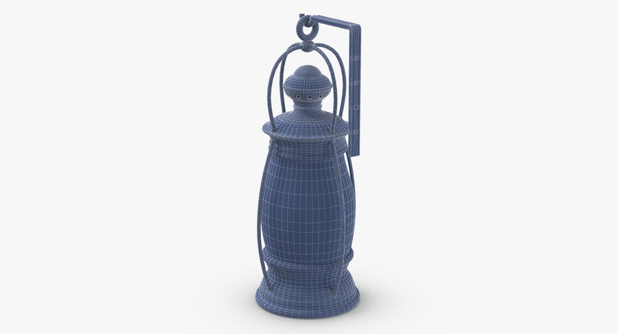 Ship Candle Lantern Mounted royalty-free 3d model - Preview no. 16