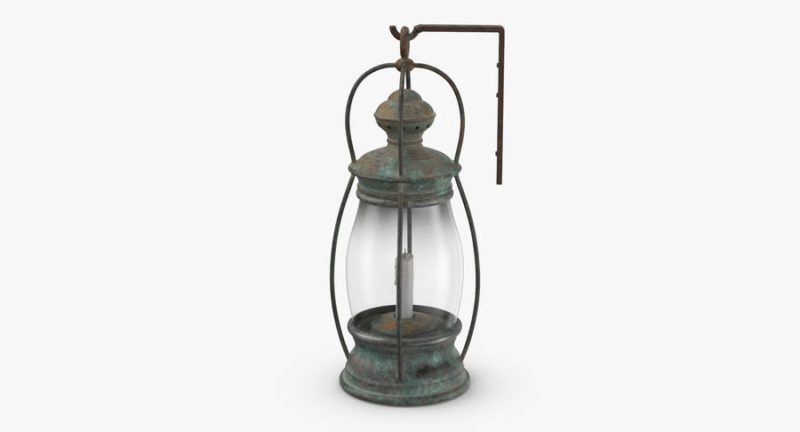 Ship Candle Lantern Mounted royalty-free 3d model - Preview no. 9