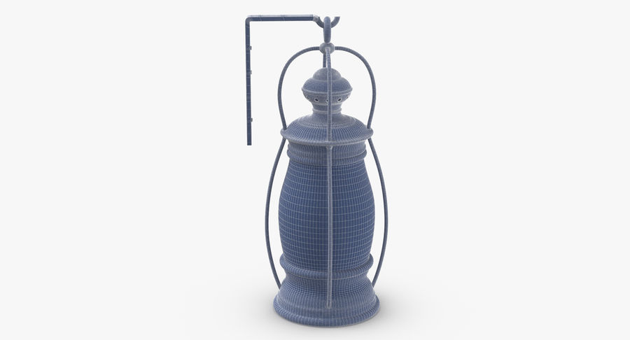 Ship Candle Lantern Mounted royalty-free 3d model - Preview no. 11