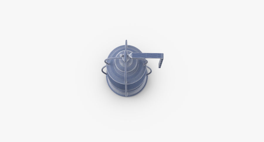 Ship Candle Lantern Mounted royalty-free 3d model - Preview no. 14