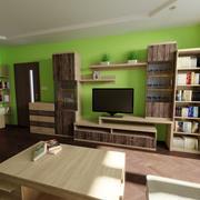 Oturma odası sahne 3d model