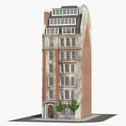 Bâtiment de Londres D 3d model