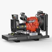 Дизельный генератор 3d model