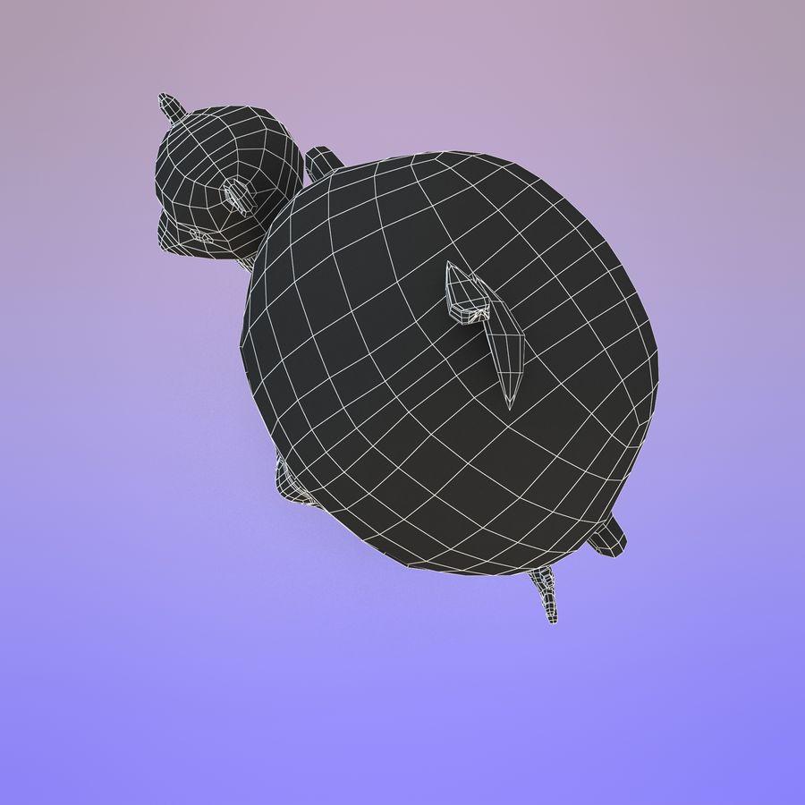 Bébé dessin animé royalty-free 3d model - Preview no. 23