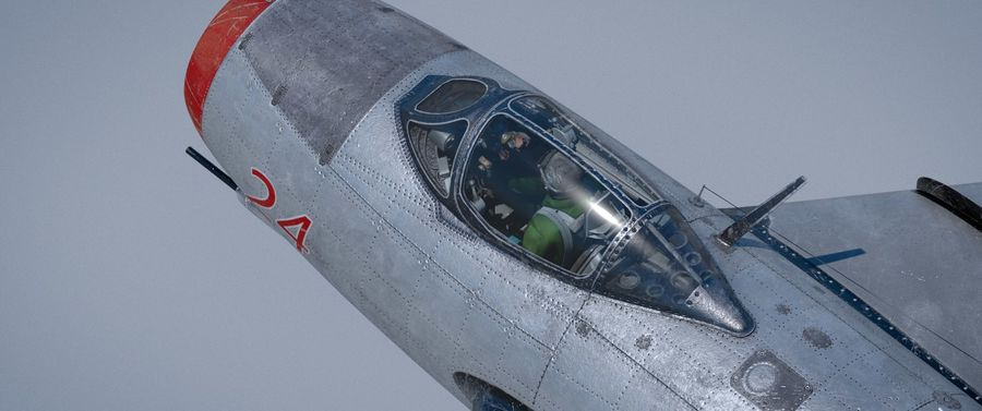mig-15 royalty-free 3d model - Preview no. 3