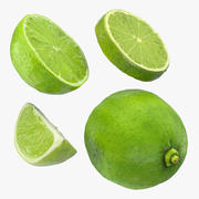 Lime-collectie 3d model
