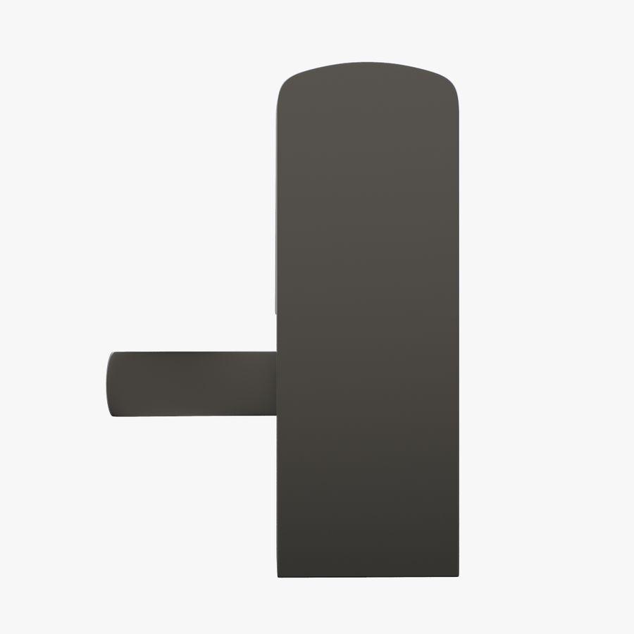 Nadgarstek z cyfrową szafką na kod royalty-free 3d model - Preview no. 5