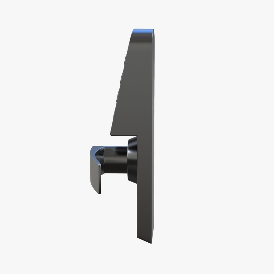 Nadgarstek z cyfrową szafką na kod royalty-free 3d model - Preview no. 4