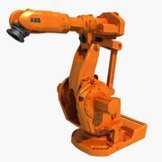 ABB IRB 6660 Industrial Robot 3d model