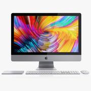 iMac 27-inch Set 2017-2018 3d model