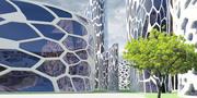 Future City 04 3d model