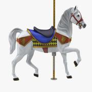 Carousel Horse v12 3d model