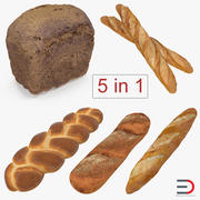 Bakery Products 3D Models Collection 2 3d model