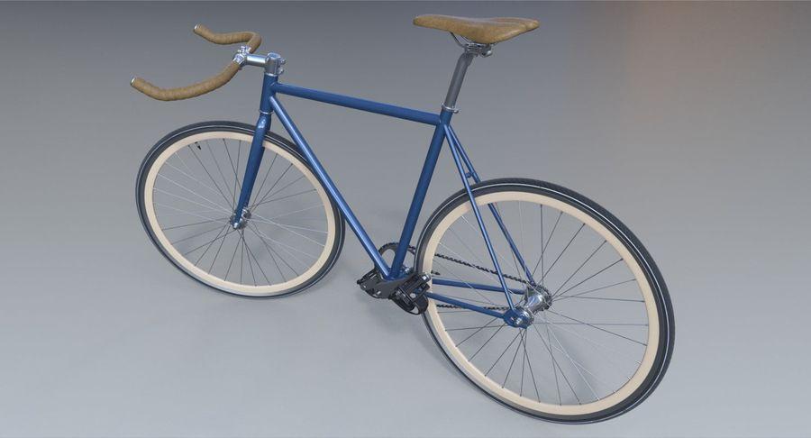 Fixie Bike royalty-free 3d model - Preview no. 10