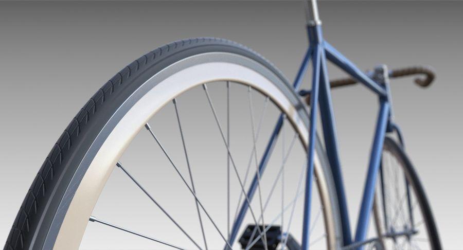 Fixie Bike royalty-free 3d model - Preview no. 9