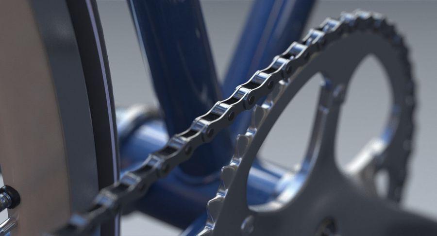Fixie Bike royalty-free 3d model - Preview no. 13