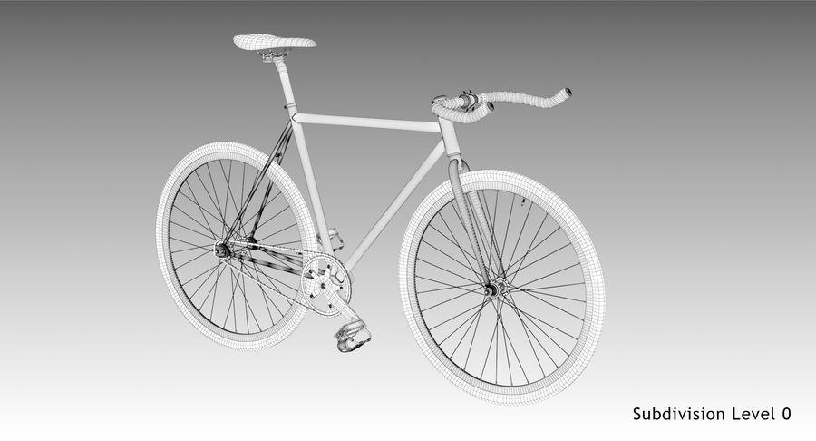 Fixie Bike royalty-free 3d model - Preview no. 15