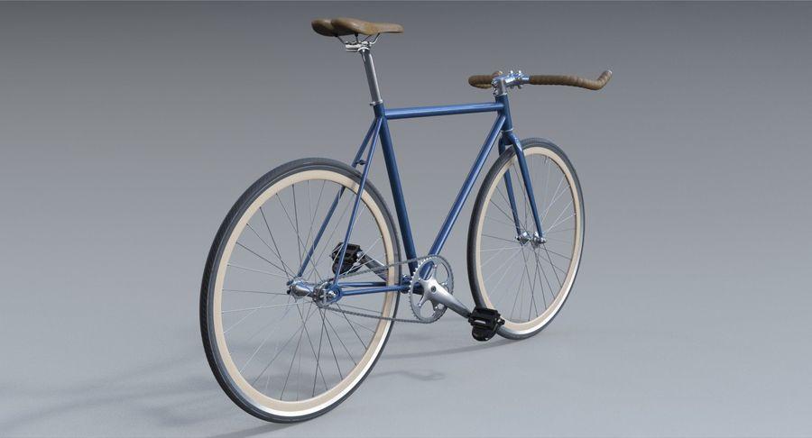 Fixie Bike royalty-free 3d model - Preview no. 4