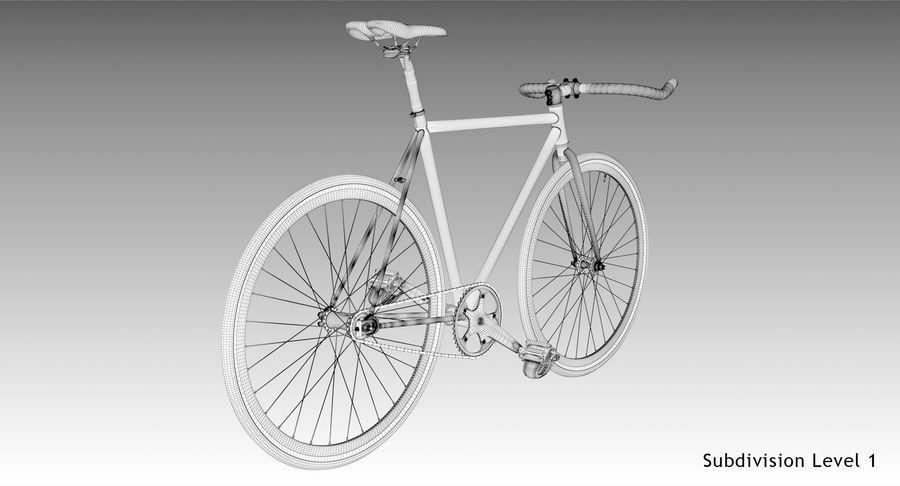 Fixie Bike royalty-free 3d model - Preview no. 20
