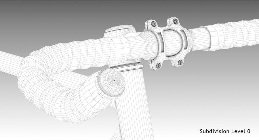 Fixie Bike royalty-free 3d model - Preview no. 17