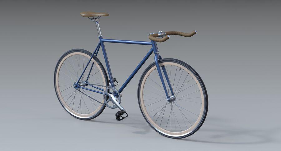 Fixie Bike royalty-free 3d model - Preview no. 3