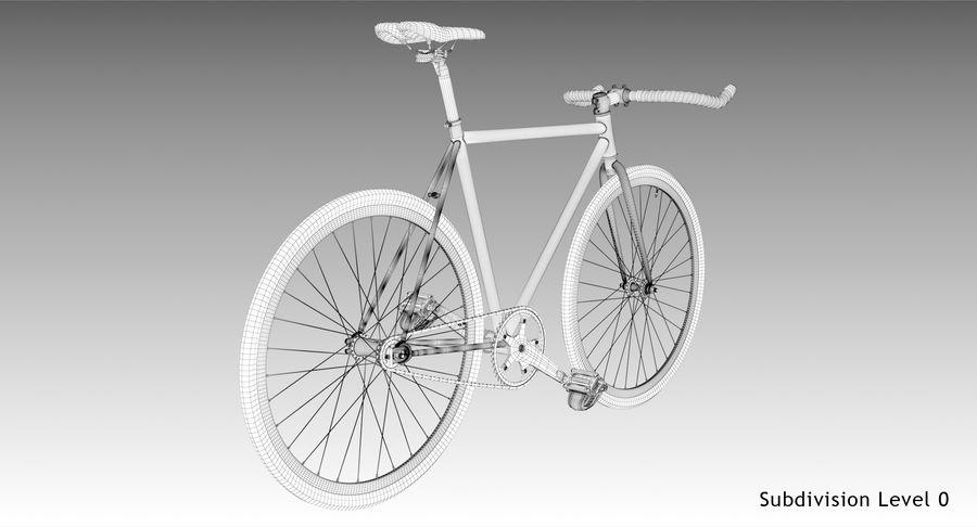 Fixie Bike royalty-free 3d model - Preview no. 19